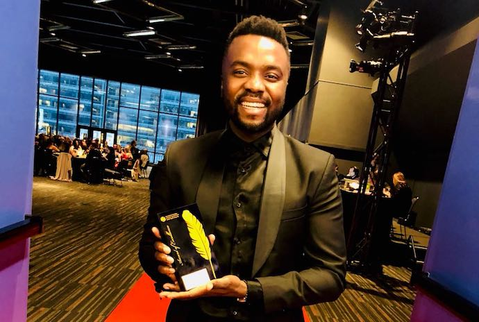 CEO and founder of DNA Brand Architects, Sylvester Chauke, was thrilled after the company scooped a prestigious Gold Quill award for its Steers campaign
