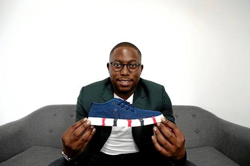 Ex-accountant Theo Baloyi coins it as sneaker maker